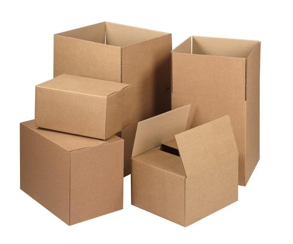 các kích thước tiêu chuẩn thùng carton