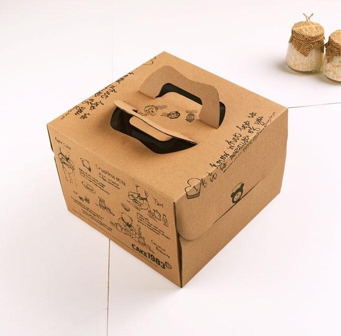 hộp carton đựng bánh kem