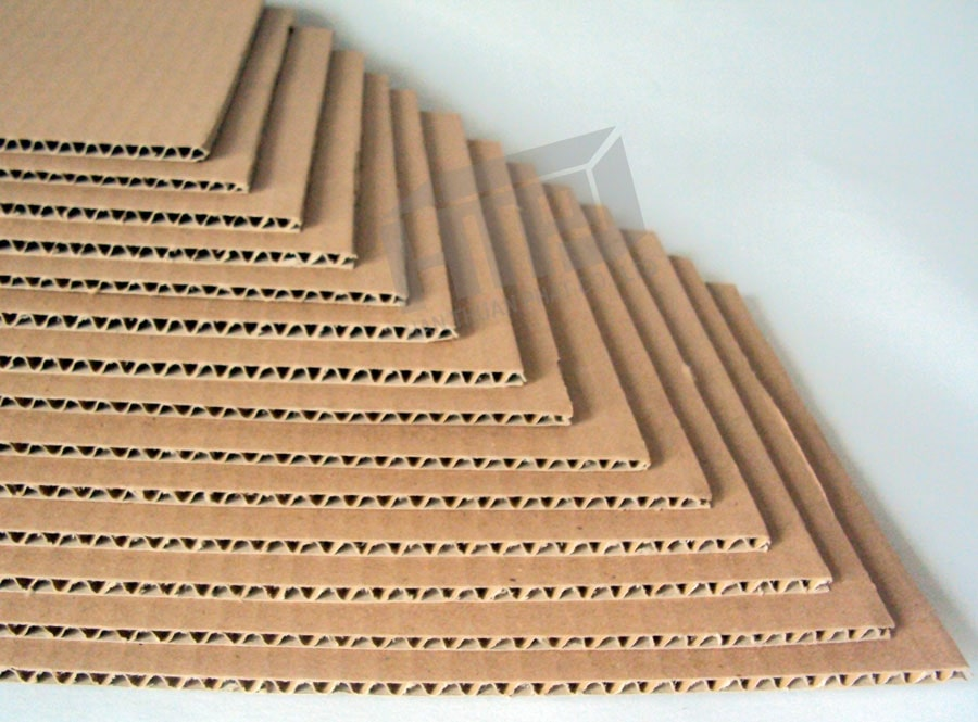 Mẫu carton giấy sóng E