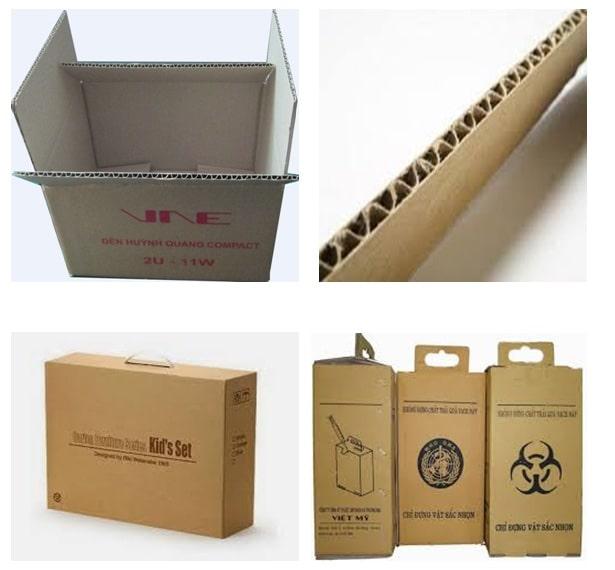 cấu tạo của thùng carton 3 lớp