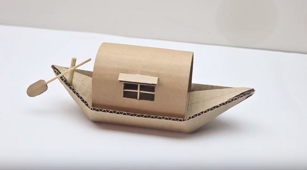 cách làm đồ handmade từ giấy bìa carton