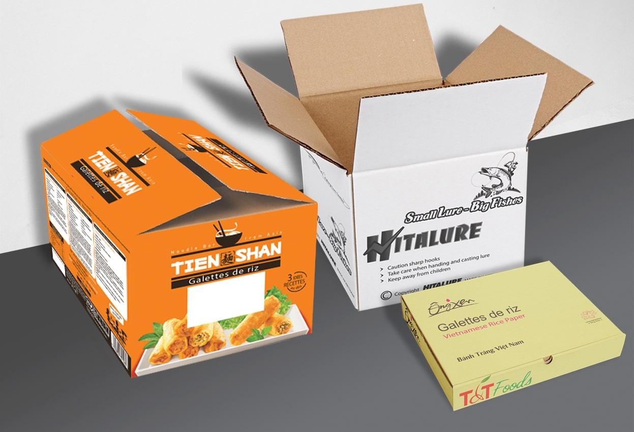 thông tin về thùng carton in offset
