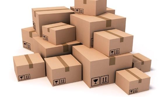 kích cỡ tiêu chuẩn của thùng carton