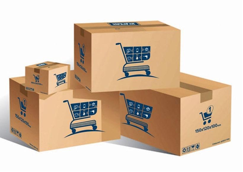 thùng carton đóng gói hàng hóa