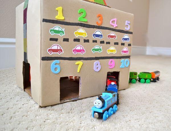 làm đồ chơi bằng giấy carton