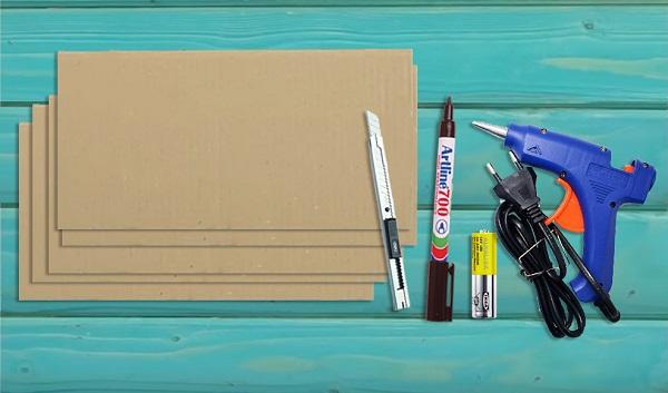 cách làm kệ đựng sách bằng giấy carton