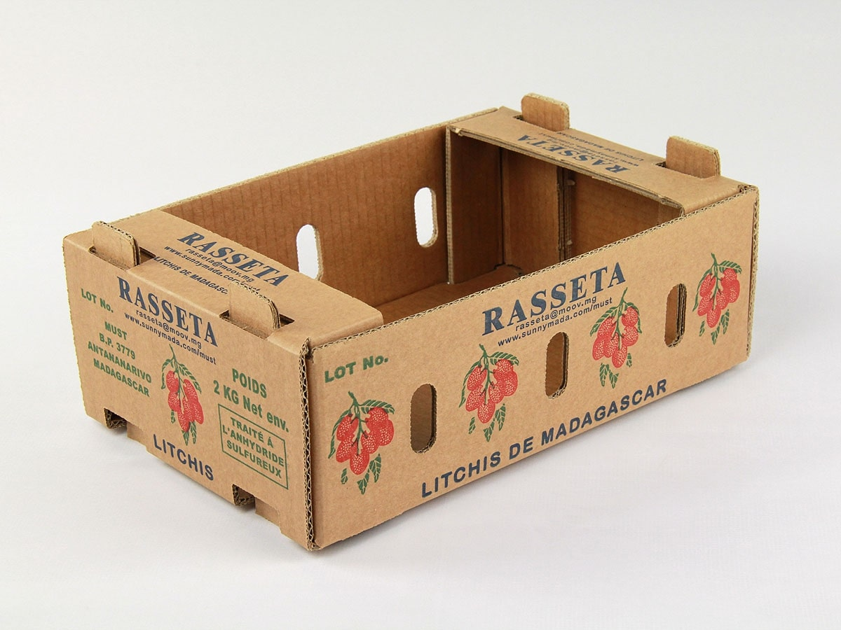 loại thùng carton bế đựng trái cây