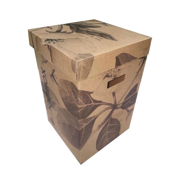 mẫu thùng carton trang trí