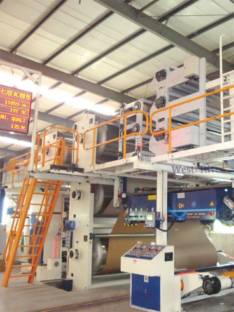 quy trình sấy nhiệt mặt thùng carton