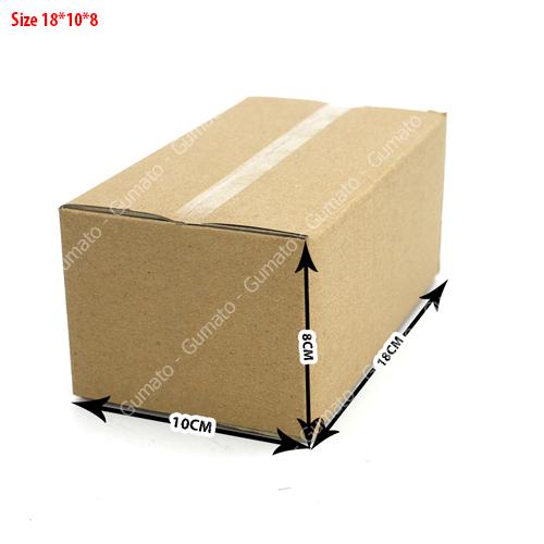 Combo 20 hộp carton 3 lớp MS: P38-size: 18x10x8 cm