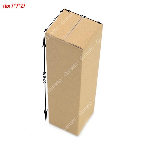 hộp carton 3 lớp size 7x7x27