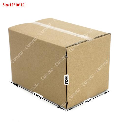 Combo 20 hộp carton 3 lớp MS: P25-size: 15x10x10 cm