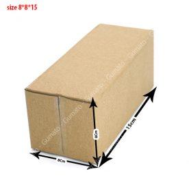 Hộp carton 8x8x15 cm