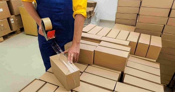 đóng gói hàng hóa khi ship cod
