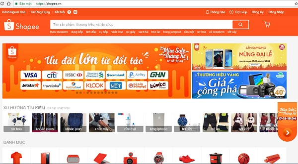 bán hàng online trên shopee