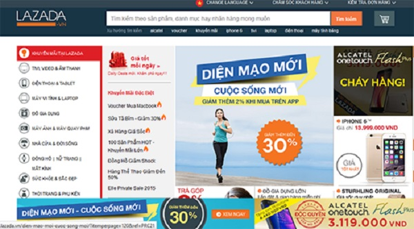 bán hàng online trên lazada