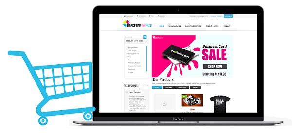 bán hàng online thông qua website