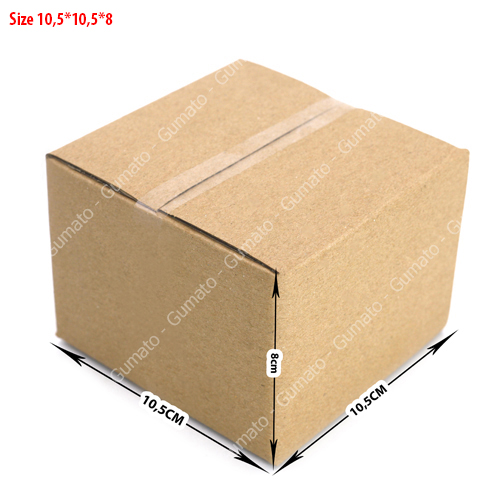 Combo 20 hộp carton 3 lớp MS: P18-size: 10,5x10,5x8 cm
