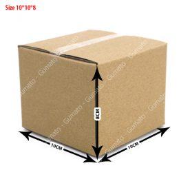 Combo 20 hộp carton 3 lớp MS: P13-size: 10x10x8 cm