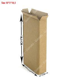 Combo 20 hộp carton 3 lớp MS: P17-size: 10x3x18,5 cm