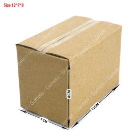 Combo 20 hộp carton 3 lớp MS: P19-size: 12x7x8 cm