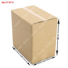 Combo 20 hộp carton 3 lớp MS: P24-size: 15x10x15 cm