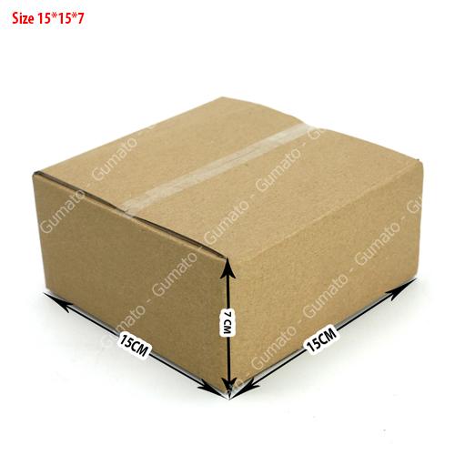 Combo 20 hộp carton 3 lớp MS: P30-size: 15x15x7 cm