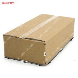 hộp carton size 20x10x5 cm
