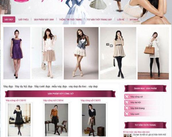 mua sắm thời trang online