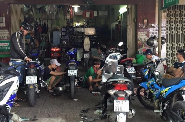 kinh nghiệm mở cửa hàng xe máy kinh doanh ở quê