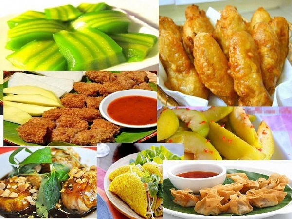 Kinh doanh các loại đồ ăn vặt online