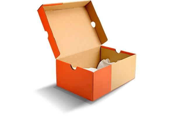 Hộp carton đựng giày nắp liền