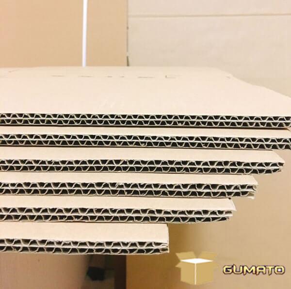 định lượng giấy thùng carton