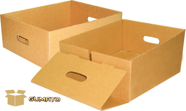thùng carton bế tròn