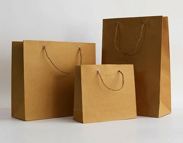 Bán túi giấy kraft giá rẻ, túi giấy đựng quà giá sỉ uy tín