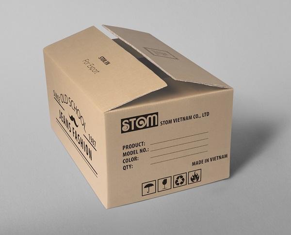 Phương pháp in lụa thùng carton thủ công