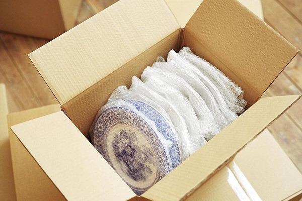 cách đóng gói hàng dễ vỡ là bát đĩa