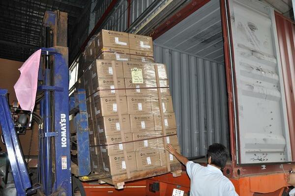 quy trình đóng gói sản phẩm thực phẩm