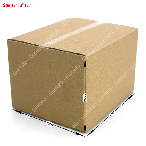 Combo 20 hộp carton 3 lớp size: 17x12x10 cm