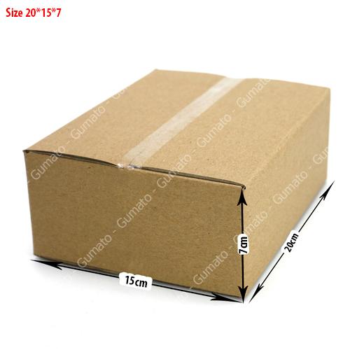 Combo 20 hộp carton 3 lớp MS: P54-size: 20x15x7 cm