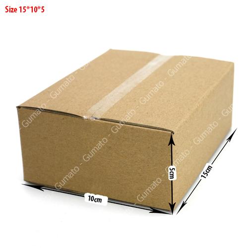 combo 20 hộp carton size 15x10x5 cm