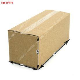 Combo 20 hộp carton 3 lớp MS: P60-size: 25x8x8 cm