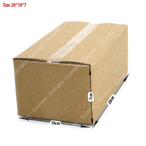 Combo 20 hộp carton 3 lớp MS: P44-size: 20x10x7 cm