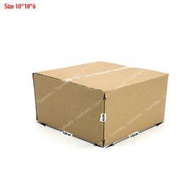 20 hộp carton 10x10x6 cm