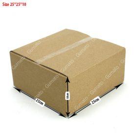 Combo 20 hộp carton 3 lớp MS: P70-size: 25x25x10 cm