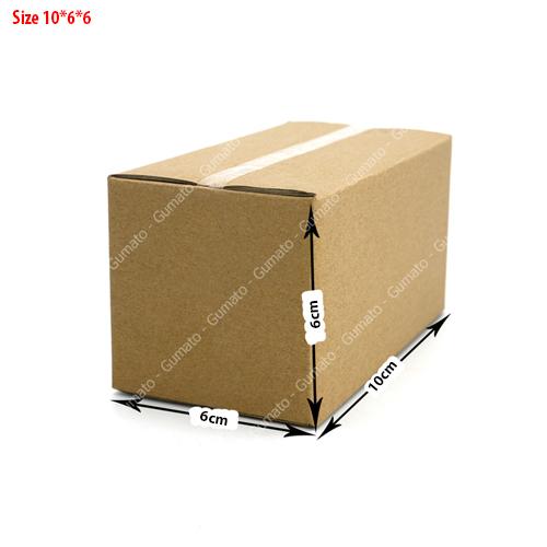 20 hộp carton size 10x6x6 cm