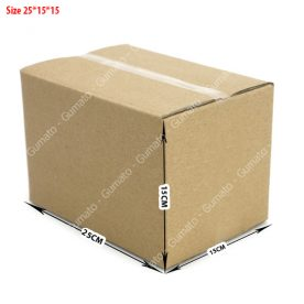 Combo 20 hộp carton 3 lớp MS: P68-size: 25x15x15 cm