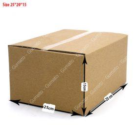 Combo 20 hộp carton 3 lớp MS: P67-size: 25x20x15 cm
