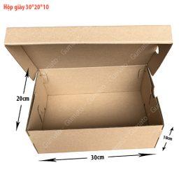 Combo 20 hộp carton đựng giày MS: HG3-size: 30x20x10 cm