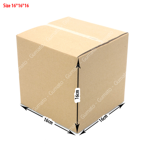 combo 20 hộp carton size 16x16x16 cm